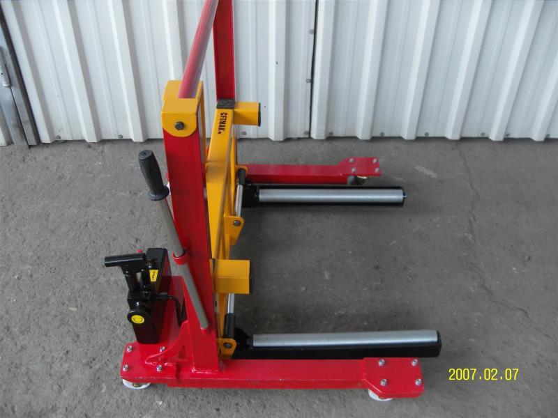hydraulic tire brake dolly cftmak hydraulic jack